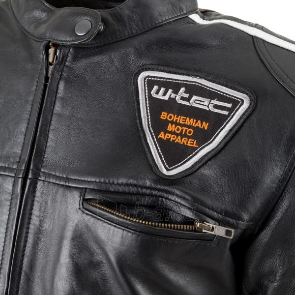 Odinė moteriška moto striukė su apsaugomis W-TEC Sheawen Lady Paveikslėlis 5 iš 11 310820218027