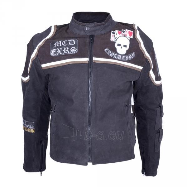 Odinė motociklininko striukė Sodager Micky Rourke Paveikslėlis 1 iš 2 310820083902