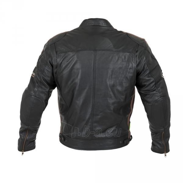 Odinė vyriška moto striukė su apsaugomis W-TEC Sheawen Paveikslėlis 10 iš 13 310820218028