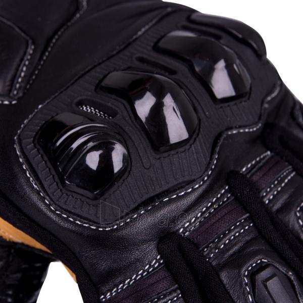 Odinės motociklininko pirštinės W-TEC Flanker B-6035 Paveikslėlis 4 iš 8 310820218049