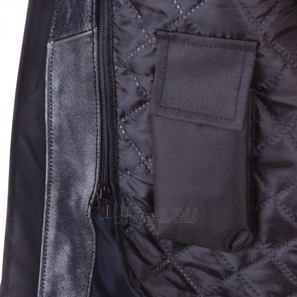 Odinis motociklininko striukė BOS 2058 Black Paveikslėlis 8 iš 12 310820083844