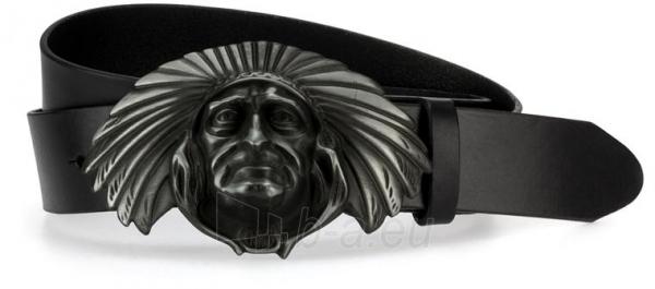 Odinis vyriškas diržas Alexis (juodos spalvos) Paveikslėlis 1 iš 4 310820035896