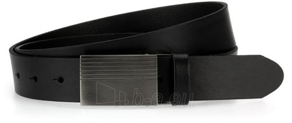 Odinis vyriškas diržas Charlie (juodos spalvos) Paveikslėlis 1 iš 4 310820035911