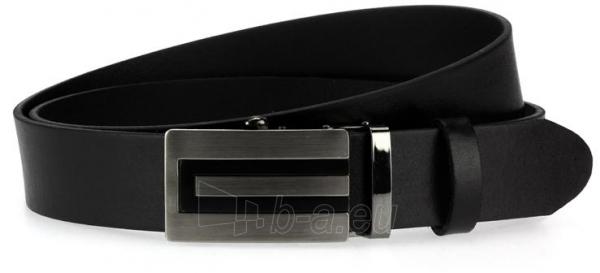 Odinis vyriškas diržas Grayson (juodos spalvos) Paveikslėlis 1 iš 4 310820035883