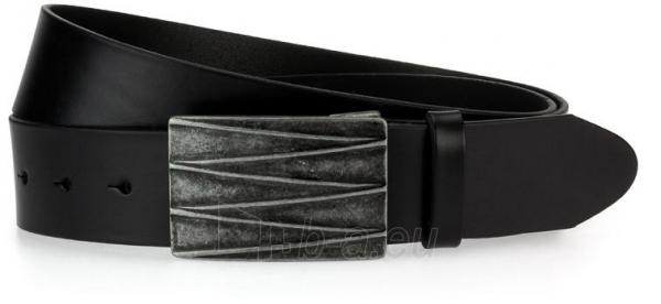 Odinis vyriškas diržas Stella (juodos spalvos) Paveikslėlis 1 iš 4 310820035902