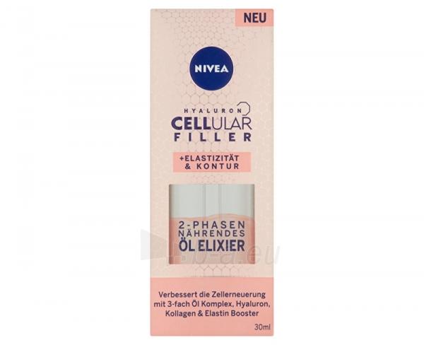 Odos serumas Nivea Hyaluron CELLular Filler Bi-Phase Oil Elixir Skin Serum 30ml Paveikslėlis 2 iš 2 310820174870
