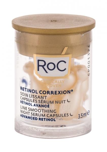 Odos serumas RoC Retinol Correxion Line Smoothing Advanced Retinol 3,5ml Night Serum Capsules Paveikslėlis 1 iš 1 310820243878