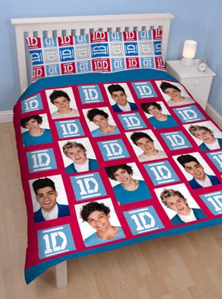 """One Direction dvigulės dvipusės patalynės komplektas """"Craze"""" Paveikslėlis 1 iš 3 30115700649"""