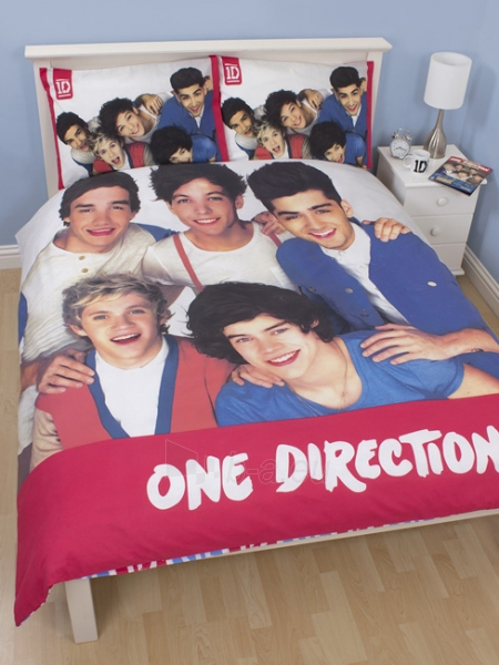 One Direction dvigulės patalynės komplektas Paveikslėlis 1 iš 3 30115700650