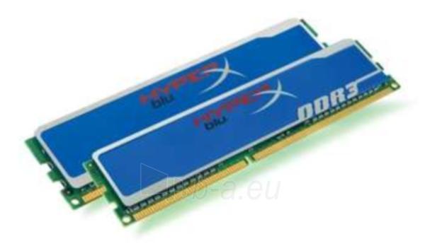 Oper. atmintis 4GB 1600MHZ DDR3 NON-ECC CL9 DIMM KIT2 Paveikslėlis 1 iš 1 250255110240