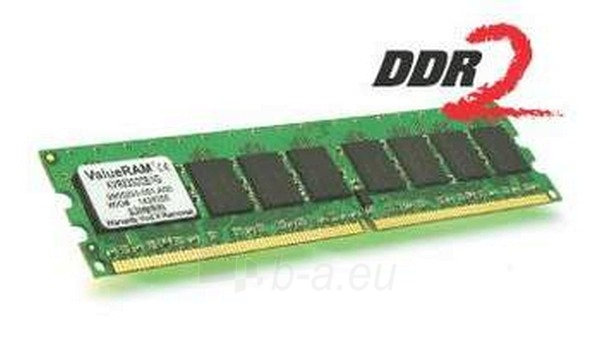 Operational memory 1GB 400MHZ DDR2 ECC REGISTERED CL3 DIMM Paveikslėlis 1 iš 1 250255110105