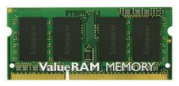 Operational memory 2GB 1333MHZ DDR3 NON-ECC CL9 SODIMM SR X Paveikslėlis 1 iš 1 250255110167