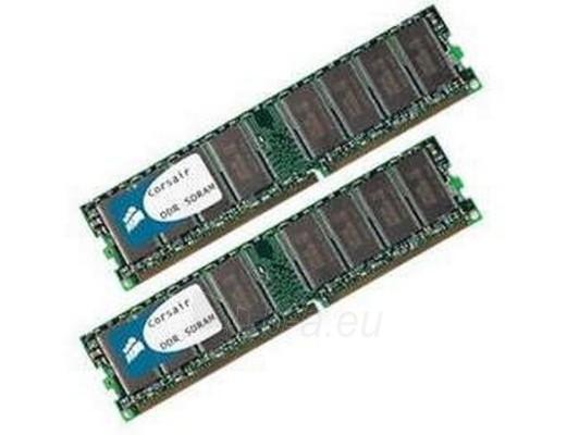 Operational memory CORSAIR DDR KIT 2X1GB 400MHZ CL3 Paveikslėlis 1 iš 1 250255110033