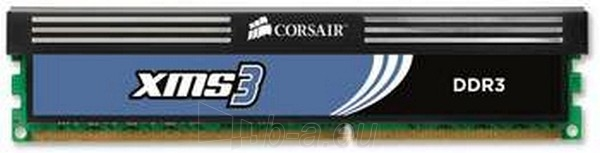 Oper.atmintis CORSAIR DDR3-2000 2*4G CL9 KIT XMS3+CHS Paveikslėlis 1 iš 1 250255110064