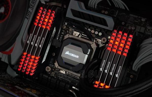 Operatyvinė atmintis Corsair Vengeance LED 2x8GB DDR4 2666MHz C16 - Red LED Paveikslėlis 2 iš 2 310820044157