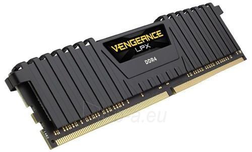 Operatyvinė atmintis Corsair Vengeance® LPX 2x16GB DDR4 2400MHz C14 Memory Kit - Black Paveikslėlis 1 iš 2 310820044140