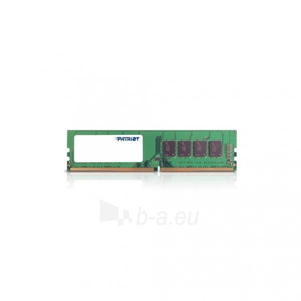 Operatyvinė atmintis Patriot Signature DDR4 16GB 2133MHz CL15 Non-ECC unbuffered Paveikslėlis 1 iš 1 310820047520