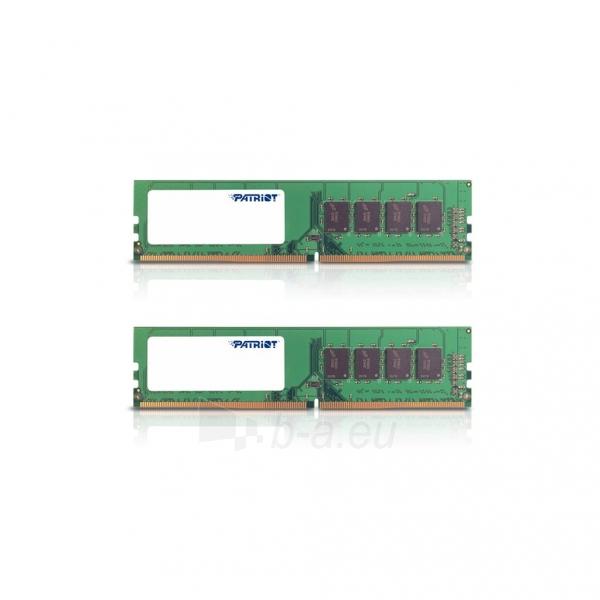 Operatyvinė atmintis Patriot Signature DDR4 2x8GB 2133MHz Paveikslėlis 1 iš 2 310820044274