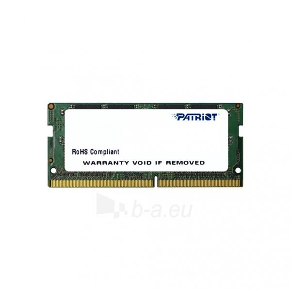 Operatyvinė atmintis Patriot Signature Line 8GB DDR4 2133MHz CL15 SODIMM Paveikslėlis 1 iš 1 310820044149