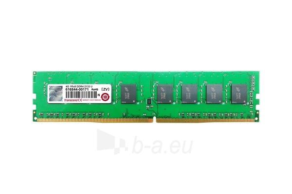 Operatyvinė atmintis Transcend 8GB 2133Mhz DDR4 DIMM 1.2V Paveikslėlis 1 iš 1 310820044278