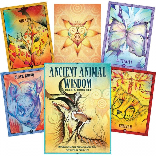 Oracle kortos Ancient Animal Wisdom Paveikslėlis 2 iš 13 310820142568
