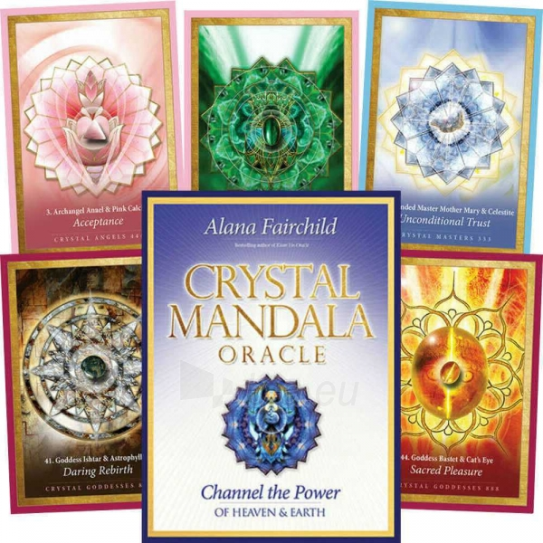 Oracle kortos Crystal Mandala Paveikslėlis 8 iš 9 310820142667