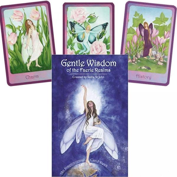 Oracle Kortos Gentle Wisdom of the Faerie Realms Paveikslėlis 1 iš 6 310820142734