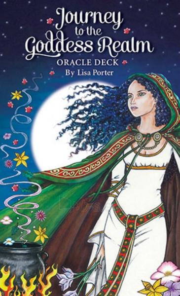Oracle kortos Journey to the Goddess Realm Paveikslėlis 1 iš 12 310820142561