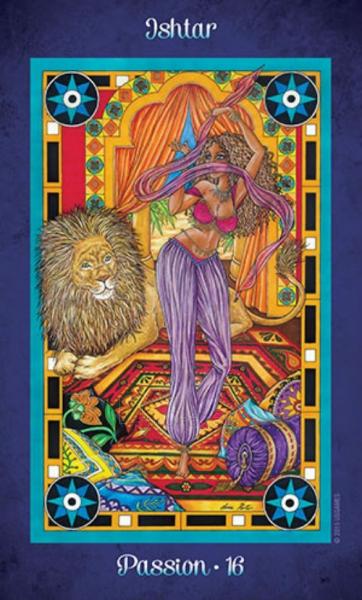 Oracle kortos Journey to the Goddess Realm Paveikslėlis 11 iš 12 310820142561