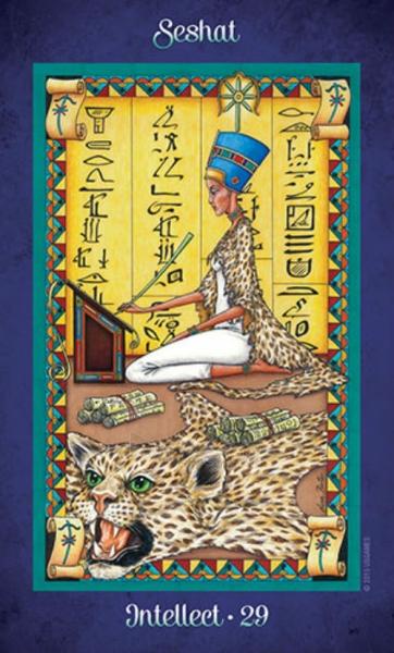 Oracle kortos Journey to the Goddess Realm Paveikslėlis 4 iš 12 310820142561