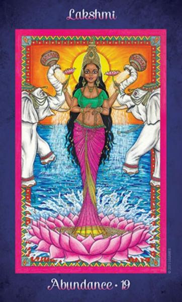 Oracle kortos Journey to the Goddess Realm Paveikslėlis 3 iš 12 310820142561