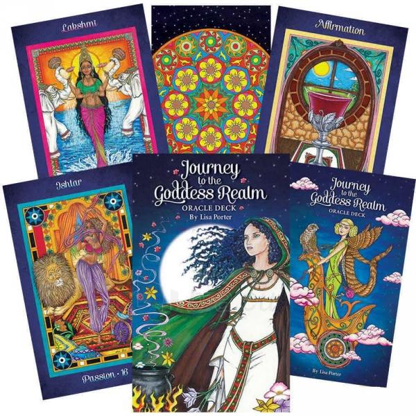 Oracle kortos Journey to the Goddess Realm Paveikslėlis 12 iš 12 310820142561