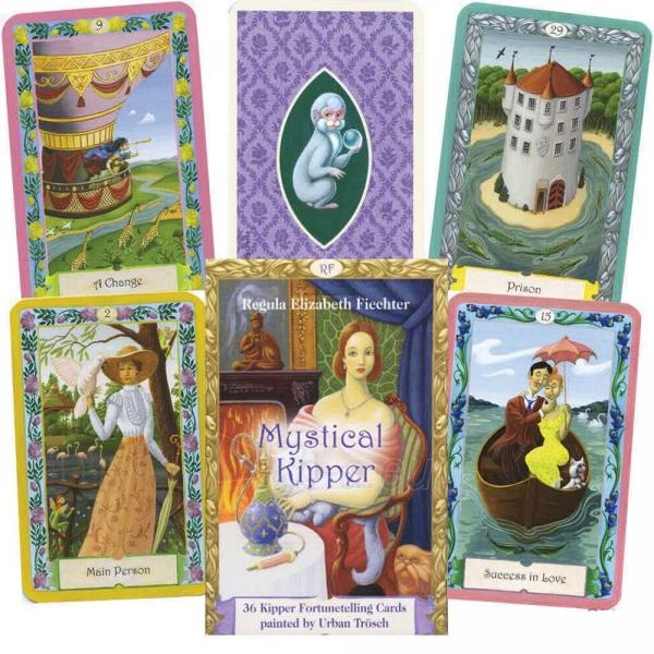Oracle kortos Mystical Kipper Paveikslėlis 10 iš 10 310820142570