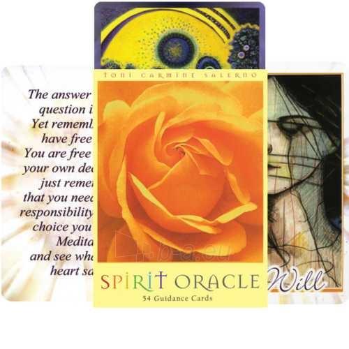 Oracle kortos Spirit Paveikslėlis 9 iš 9 310820142697