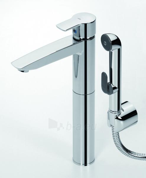ORAS CUBISTA aukštas maišytuvas praustuvui su bidetta rankiniu dušeliu ir dugno vožtuvu Paveikslėlis 1 iš 2 270722000105