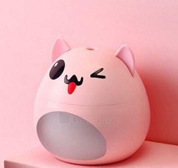 Oro drėkintuvas Hyunpet Pet Dog 200ml pink Paveikslėlis 1 iš 8 310820215736