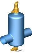 Oro ir purvo mechaninis atskyrėjas Zeparo ZIO 50 S Paveikslėlis 1 iš 1 270380000132