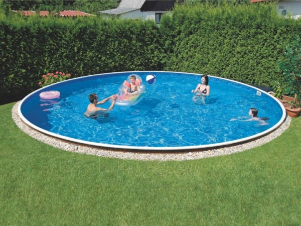 Oval outdoor swimming pool DeLuxe 406DL Paveikslėlis 1 iš 1 30092300007