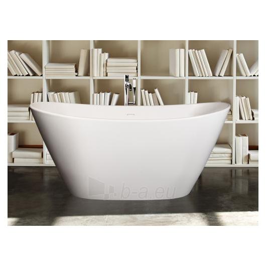 PAA laisvai pastatoma vonia 1600x850 Amore (Silkstone) Paveikslėlis 2 iš 5 310820127834