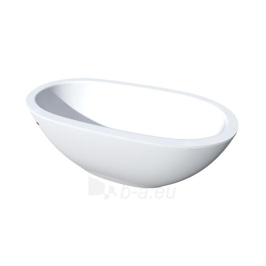 PAA laisvai pastatoma vonia 1800x900 Dolce (Silkstone) Paveikslėlis 1 iš 4 310820127833