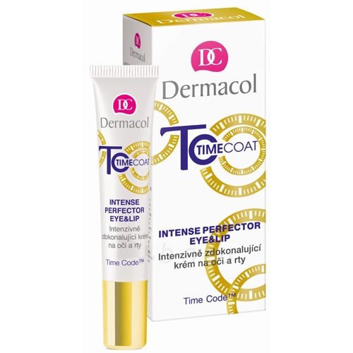 Paakių kremas Dermacol Intensely perfecting cream for eyes and lips Time Coat (Intense Perfector Eye & Lip) 15 ml Paveikslėlis 1 iš 1 310820150116