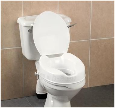 Paaukština tualeto sėdynė Savanah su dangčiu Paveikslėlis 1 iš 1 310820217860