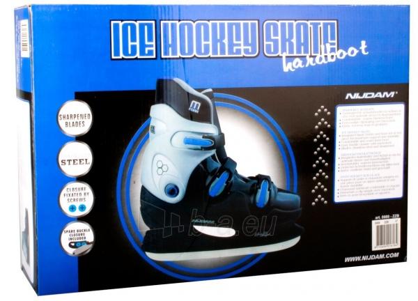 Pačiūžos ledo rituliui 0089 38 black/silver/blue Paveikslėlis 4 iš 4 310820199592