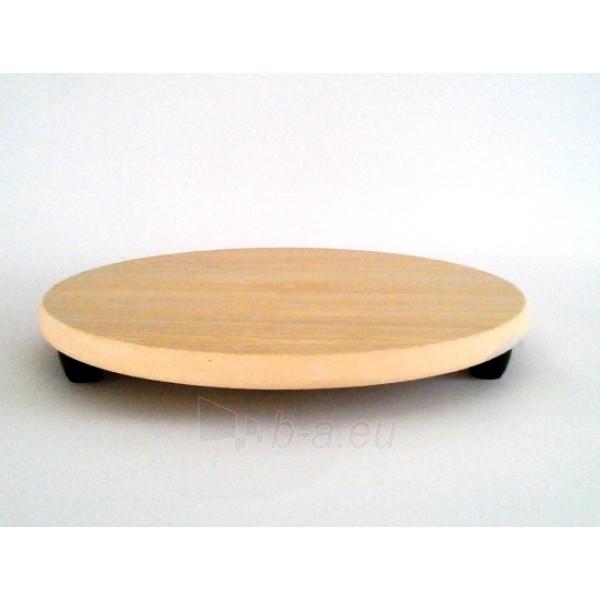 Padėklas medinis 30cm. su kojelėmis Paveikslėlis 1 iš 1 310820029612