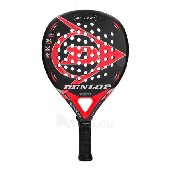 Padel teniso raketė ACTION RED 360-375g profess Paveikslėlis 1 iš 2 310820158005