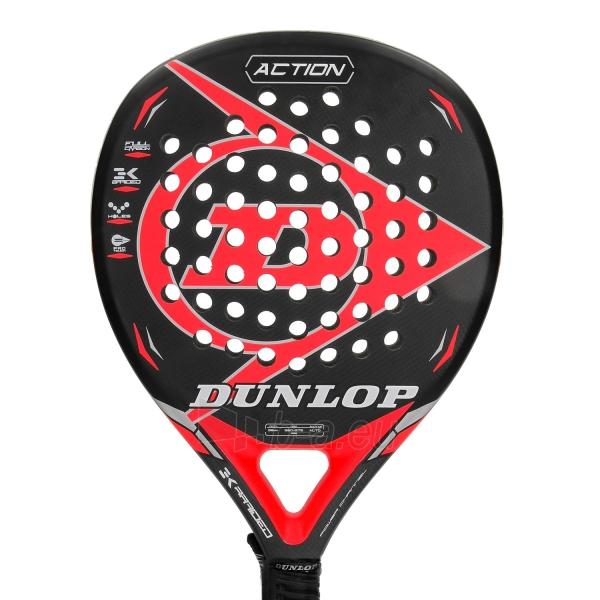 Padel teniso raketė ACTION RED 360-375g profess Paveikslėlis 2 iš 2 310820158005