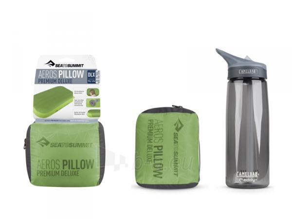 Pagalvė Aeros Premium Pillow Deluxe Žalia Paveikslėlis 2 iš 2 310820228934