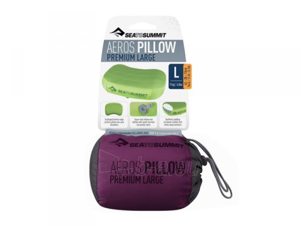 Pagalvė Aeros Premium Pillow Large Violetinė Paveikslėlis 2 iš 3 310820251028