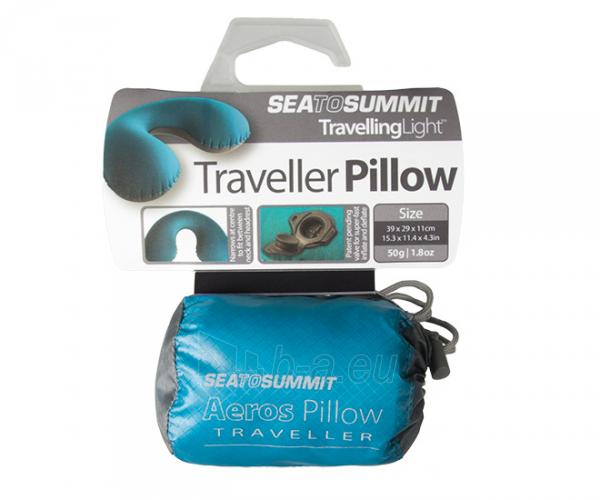 Pagalvė Aeros Traveller Pillow Raudona Paveikslėlis 2 iš 2 310820228926