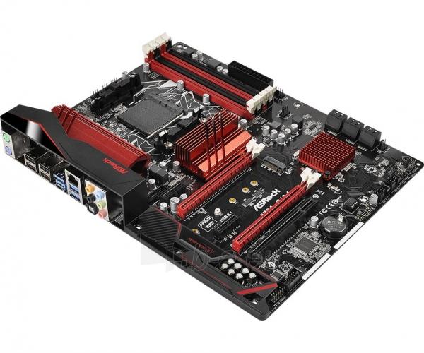 Pagrindinė plokštė ASRock 970A-G/3.1, 970, SB950, DualDDR3-1333, SATA3, M.2, USB 3.1, ATX Paveikslėlis 3 iš 5 310820017542